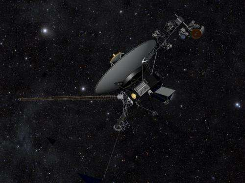 NASA Voyager statement about competing models to explain recent spacecraft data