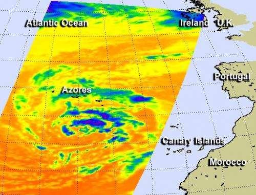 NASA watching a post-Atlantic hurricane season low