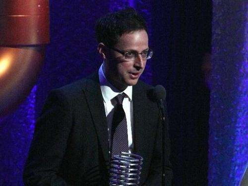 Nate Silver attends the 16th Annual Webby Awards on May 21, 2012 in New York City