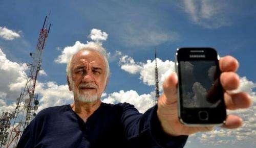Nelio Jose Nicolai poses for a picture in Brasilia, on February 14, 2013
