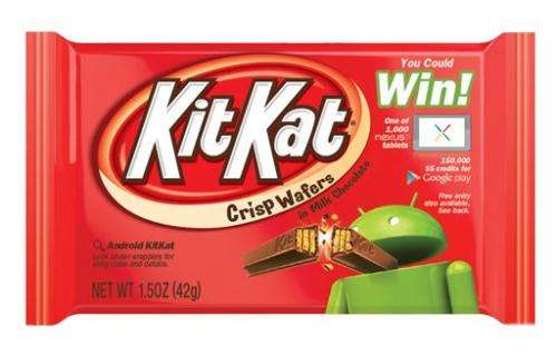 New Android system named 'KitKat'