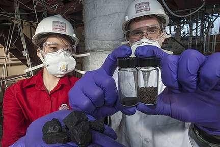 New coal technology harnesses energy without burning, nears pilot-scale development