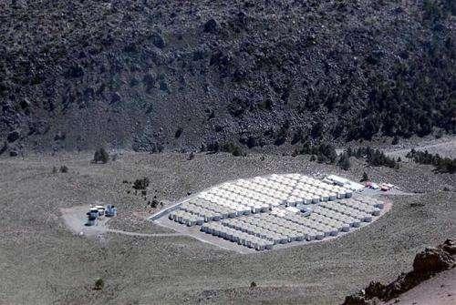New gamma-ray observatory begins operations at Sierra Negra volcano