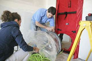 New green technology squeezes out building leaks