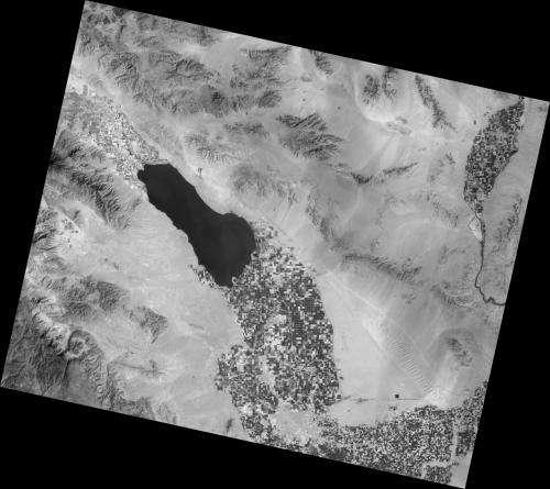 New NASA satellite takes the Salton Sea's temperature