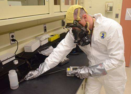New spectrometry standard for handheld chemical detectors aids first responders