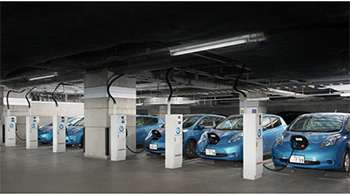 Nissan Leafs can now power the office, as well as the home