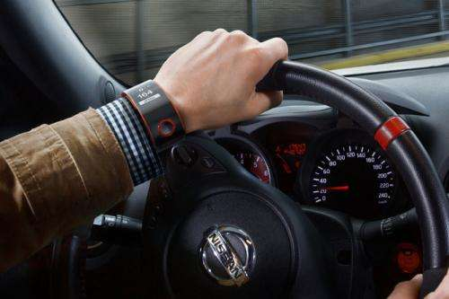 Nissan Nismo is  smartwatch with driving experience