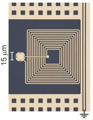 NIST mechanical micro-drum used as quantum memory