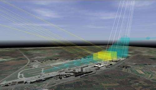 Non-glaring photovoltaic installations