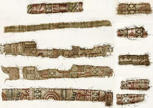 Norwegian Vikings purchased silk from Persia