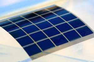 Novel organic solar cells