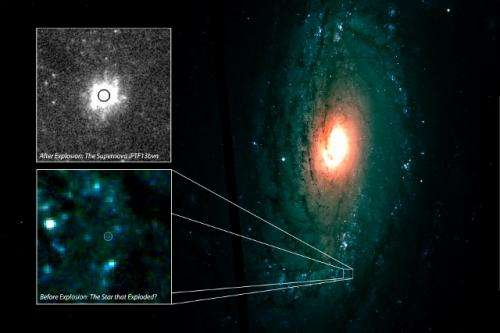 Observatory's unique capabilities help identify first progenitor of stripped-envelope supernova