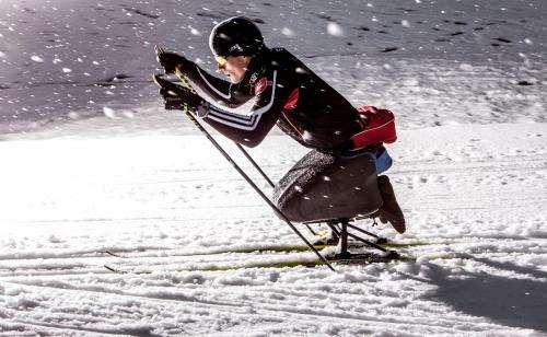 Optimized custom-made ski sledges