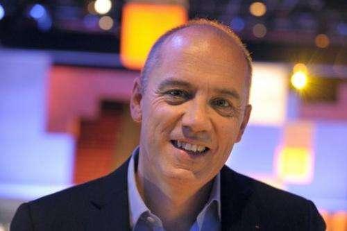 Orange-France Telecom CEO Stephane Richard seen on November 21, 2012 in Paris.