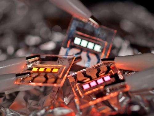 Organic electronics--a hot matter