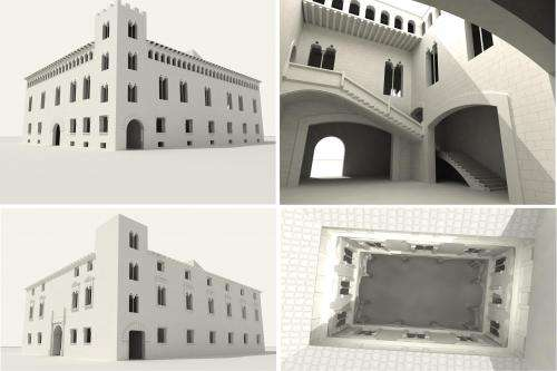New method for reconstructing long-gone historic buildings in 3D
