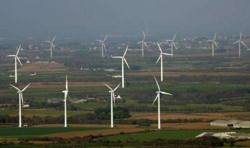 Plans to dot France with wind farms are facing fierce opposition from critics worried they will blight a landscape that has help