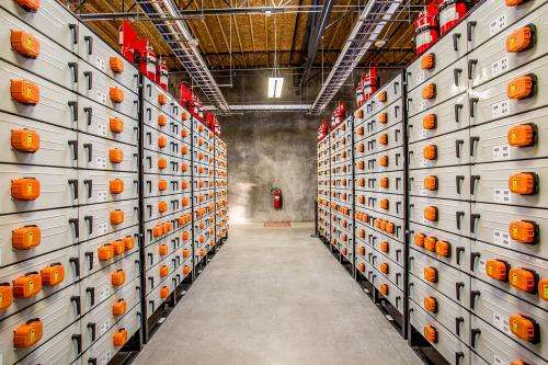 Power grid getting smarter with big battery
