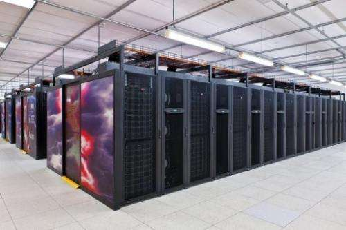 Raijin is estimated to be the 27th most powerful computer in the world and weighs 70 tonnes