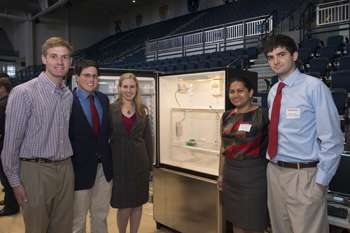 Regulator keeps vaccines at right temperature