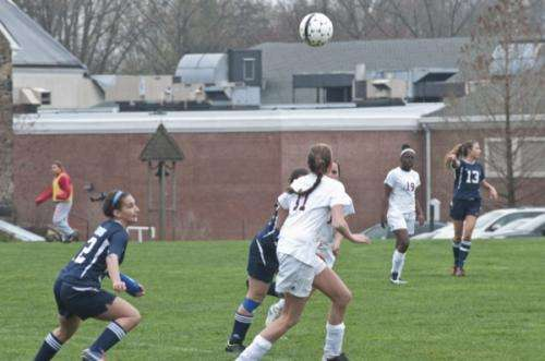 Research examines effect of heading in previously concussed female soccer players