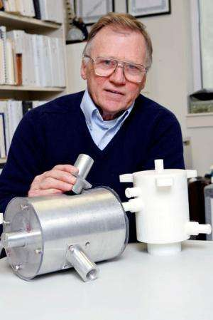 Rotary valve could help propel craft to Mars one day