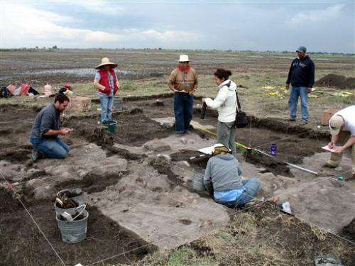 Sacrificial skull mound in Mexico puzzles experts