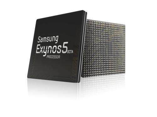 Samsung announces Exynos 5 Octa for new generation of mobile devices