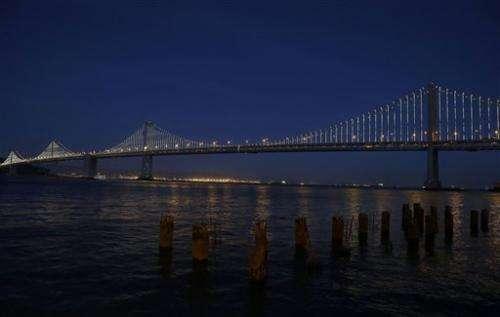 San Francisco's 'other' bridge prepares to shine