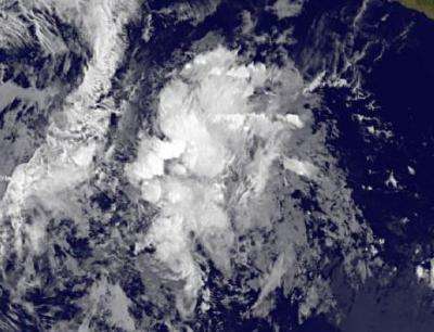 Satellite sees Tropical Storm Alvin's life end quickly