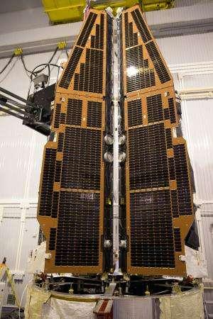 Satellites packed like sardines