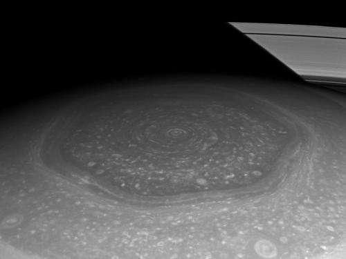 Saturn's north polar hexagon