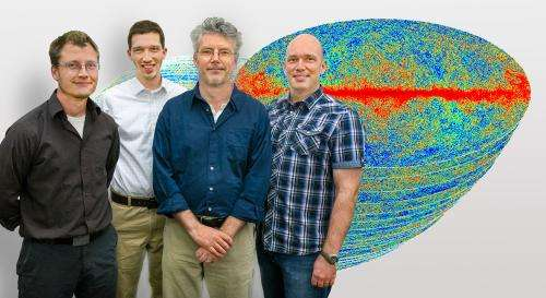 Scientists generate thousands of simulations to analyze flood of data from the Planck mission