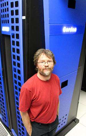 SDSC's Gordon Supercomputer assists in crunching large Hadron Collider data