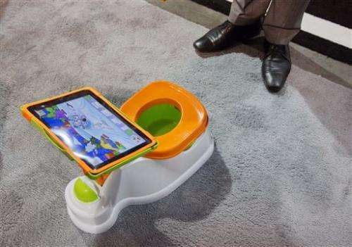 'Smart' potty or dumb idea? Wacky gadgets at CES