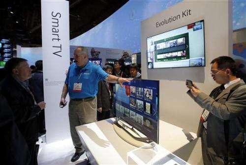 Smart TVs get smarter, by just a little bit