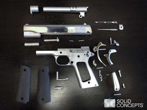 Solid Concepts 3D prints world's first metal gun (w/ Video)