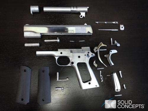 Solid Concepts 3D prints world's first metal gun (w/ Video)