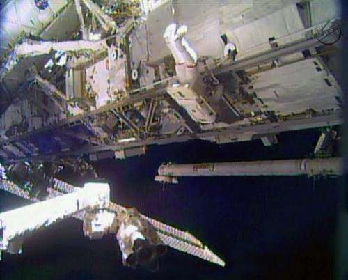 Space suit issue prompts delay of second spacewalk