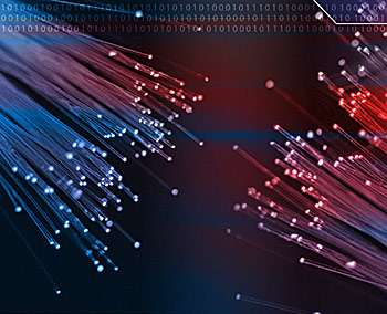'Standard quantum limit' smashed, could mean better fiber-optic comms