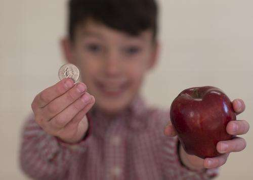 Study: Pay kids to eat fruits & veggies with school lunch