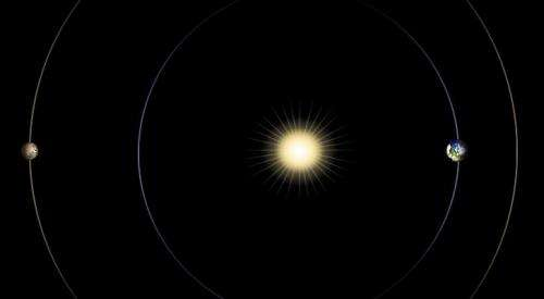Sun in the way will affect Mars missions in April