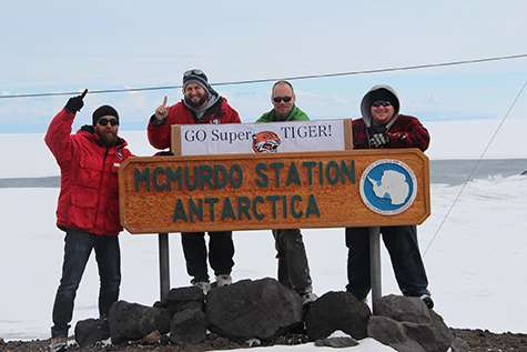Super-TIGER shatters scientific balloon record in Antarctica