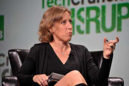 Susan Wojcicki of Google on September 10, 2013 in San Francisco, California