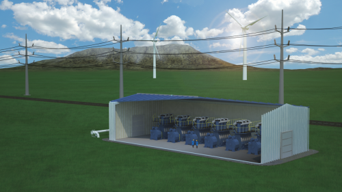 SustainX builds 1.5 MW isotherm compressed air energy storage system