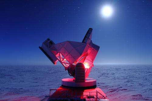 Swirls in remnants of big bang may hold clues to universe's infancy