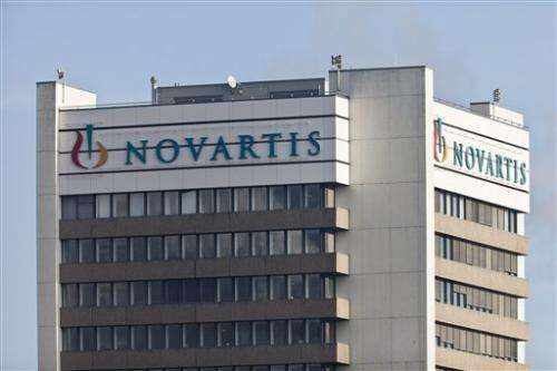 Swiss pharma Novartis ups full-year sales outlook