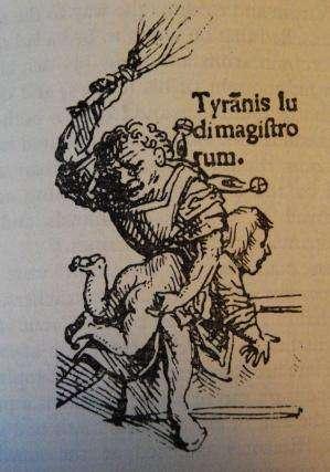 Medieval origins of debate on classroom beatings