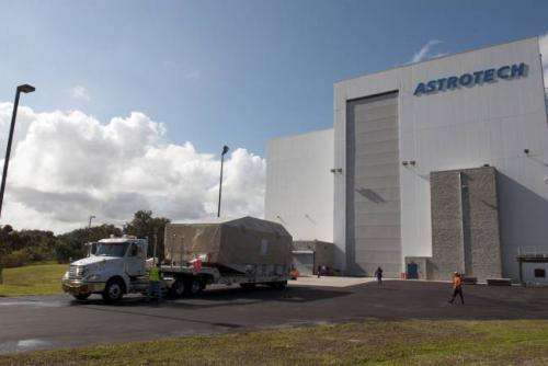 NASA's Tracking and Data Relay Satellite Arrives at Kennedy Space Center